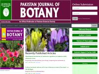 《巴基斯坦植物学期刊》官网