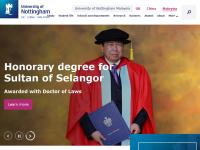 诺丁汉大学马来西亚分校官网