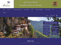不丹旅游局官网