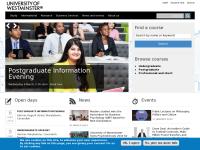 威斯敏斯特大学官网